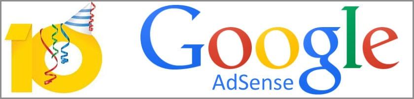 Google Adsense wird 10 Jahre alt - Challenge als User-Geschenk