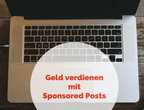 Geld verdienen mit Sponsored Posts: Blogfoster