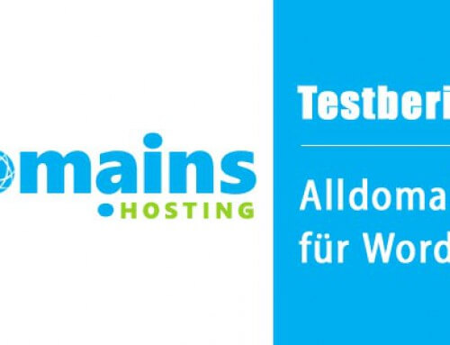 Testbericht: Alldomains-Hosting für WordPress-Blogs