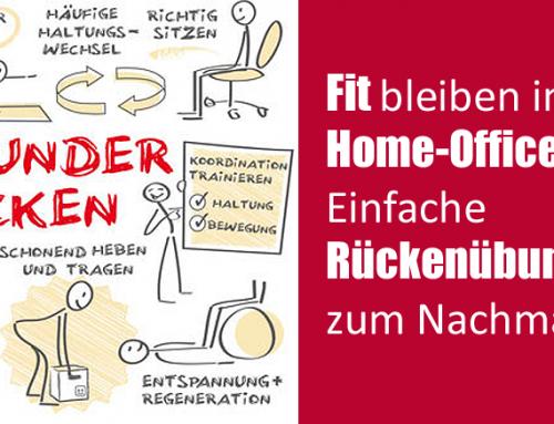 Fit bleiben im Home-Office: Einfache Rückenübungen zur Lockerung  und Dehnung der Rückenmuskulatur