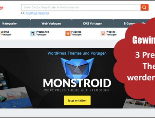 Gewinner der Premium-WordPress-Themes von TemplateMonster