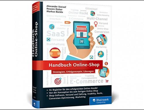 Buchbesprechung: Handbuch Online-Shop: Strategien, Erfolgsrezepte, Lösungen