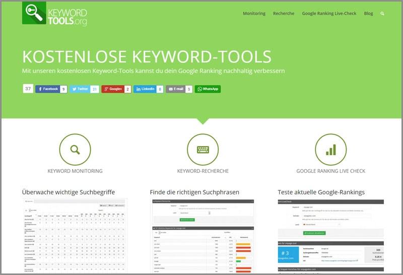 Keyword-Tool.org