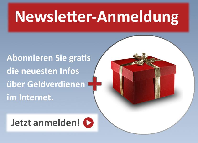 Newsletter + Geschenk