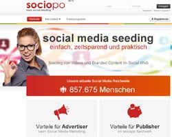 Sociopo - Social-Media-Marketing-Plattform
