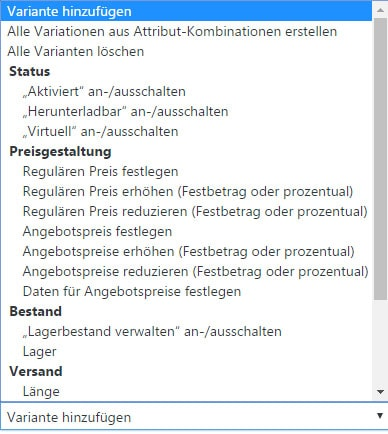 WooCommerce Leitfaden: Teil 11 - Variable Produkte anlegen