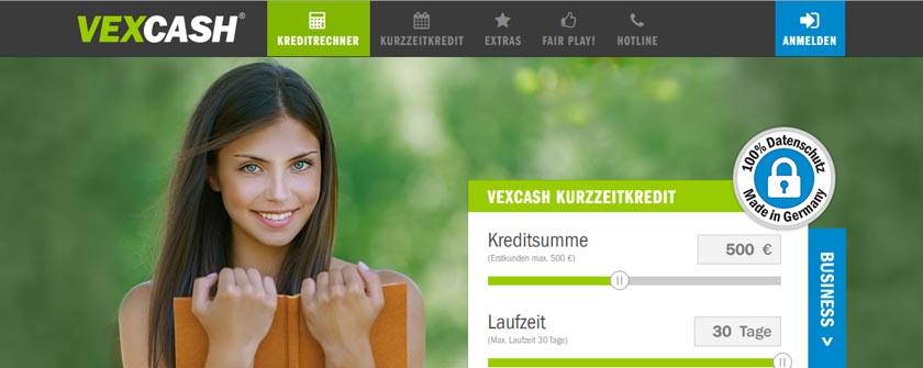 Partnerprogramm des Monats: Vexcash Kurzzeitkredit