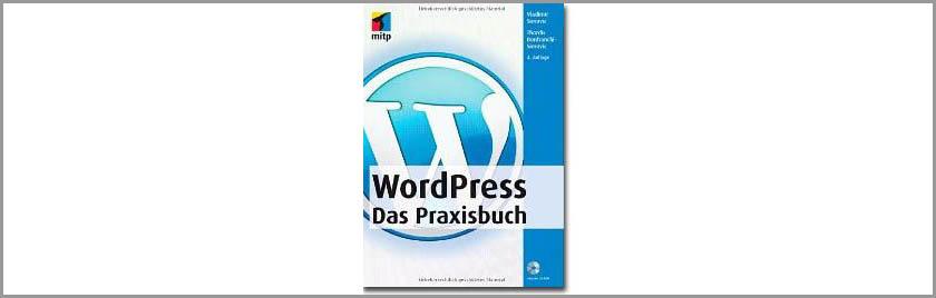 Buchbesprechung des Monats: WordPress - Das Praxisbuch (Autor: Vladimir Simovic)