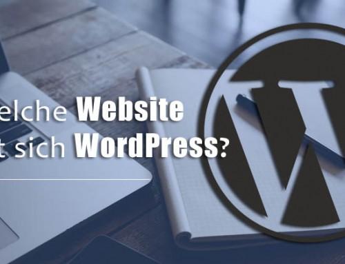Für welche Websites eignet sich WordPress?