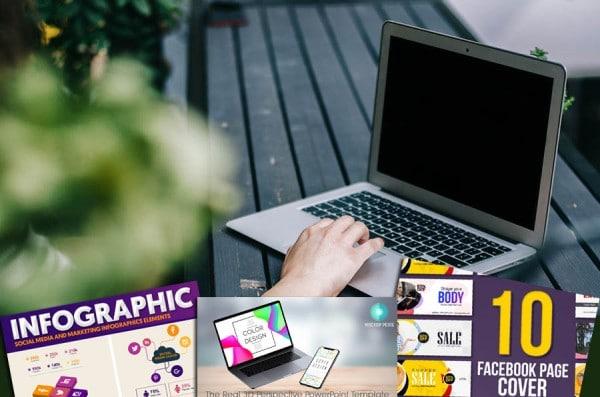 20 nützliche Tools und Vorlagen für Websites, Social Media, Drucksachen und Werbebanner