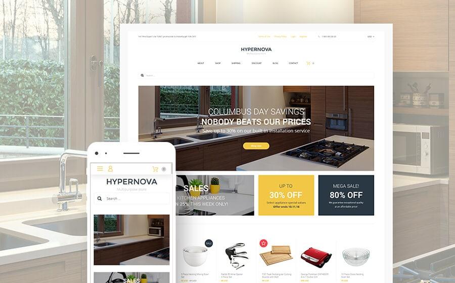 Hypernova - Multipurpose Online Store WooCommerce Theme