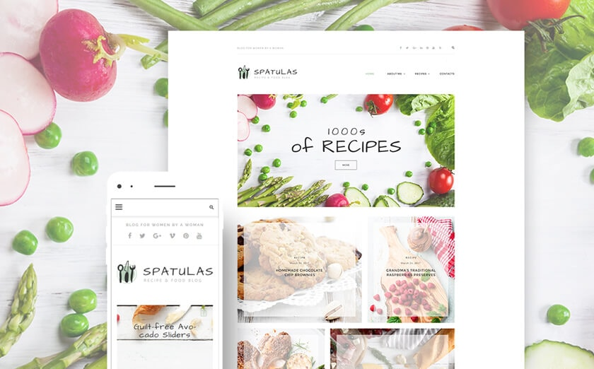 WordPress-Theme für Foodblogs