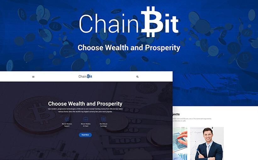 Chain Bit: WordPress-Theme für Bitcoin
