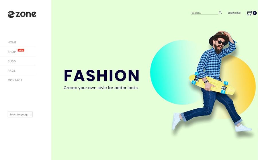 Ezone - Mehrzweck-Theme für WooCommerce-Shops