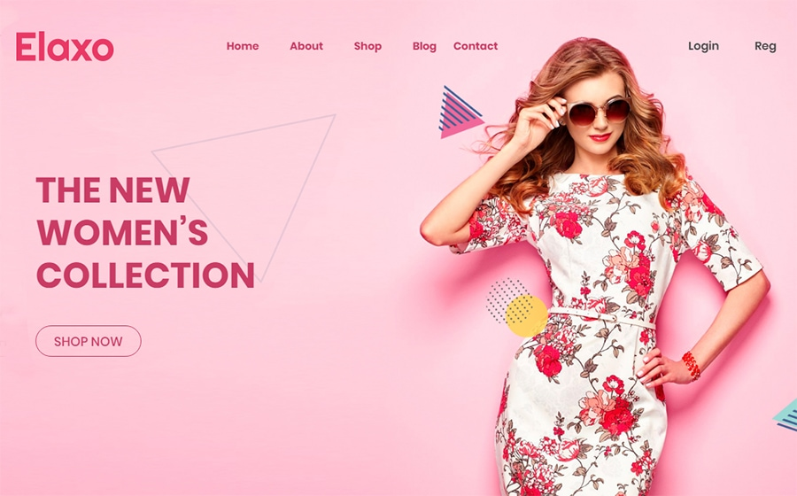 Elaxo - WooCommerce Theme Fashion