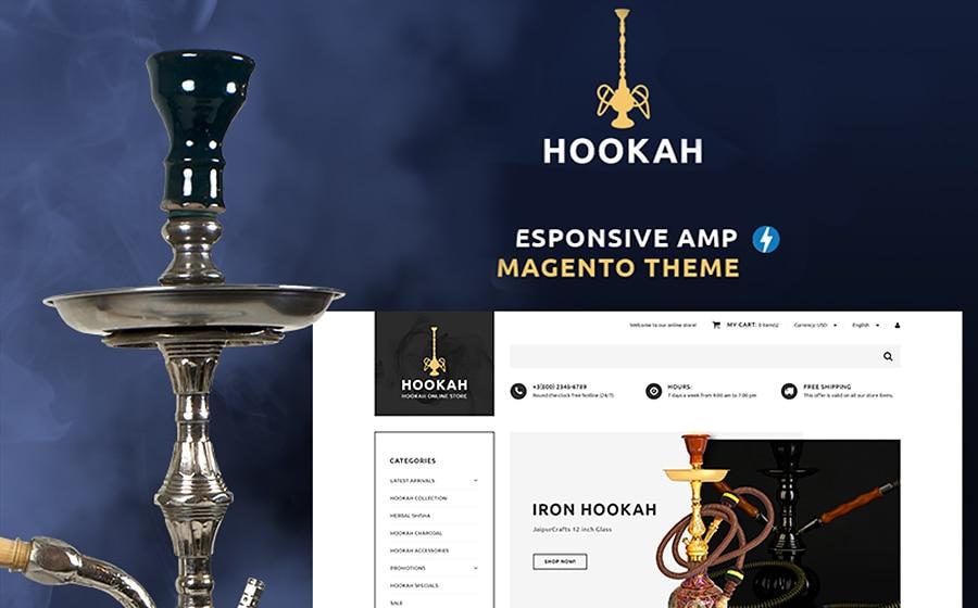 Hookah - Magento Theme für einen Shisha-Shop