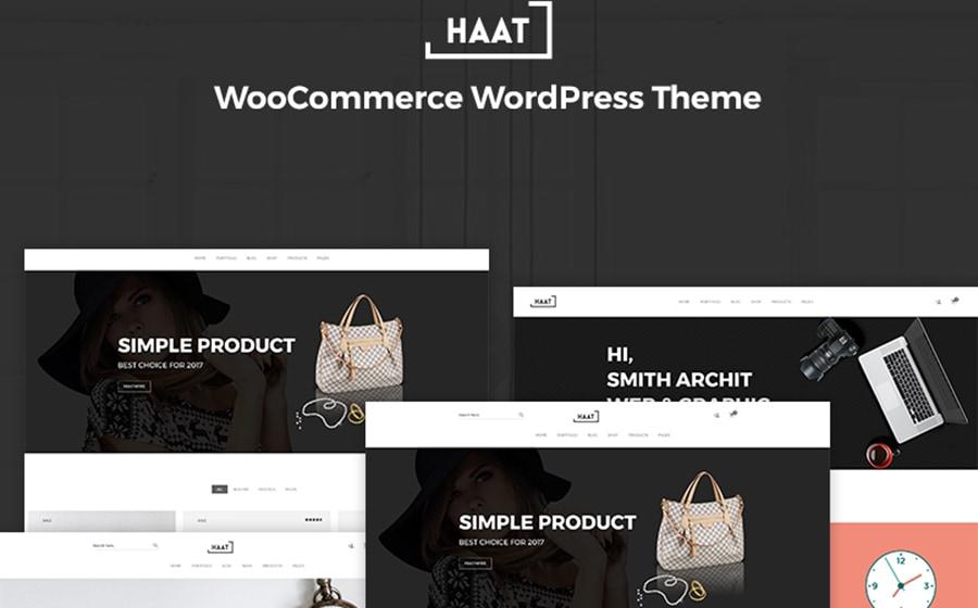WooCommerce Theme namens Haat