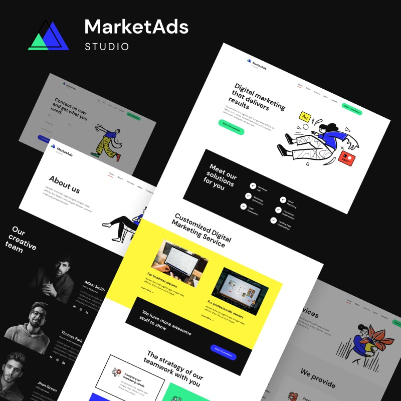 WordPress-Theme MarketAds