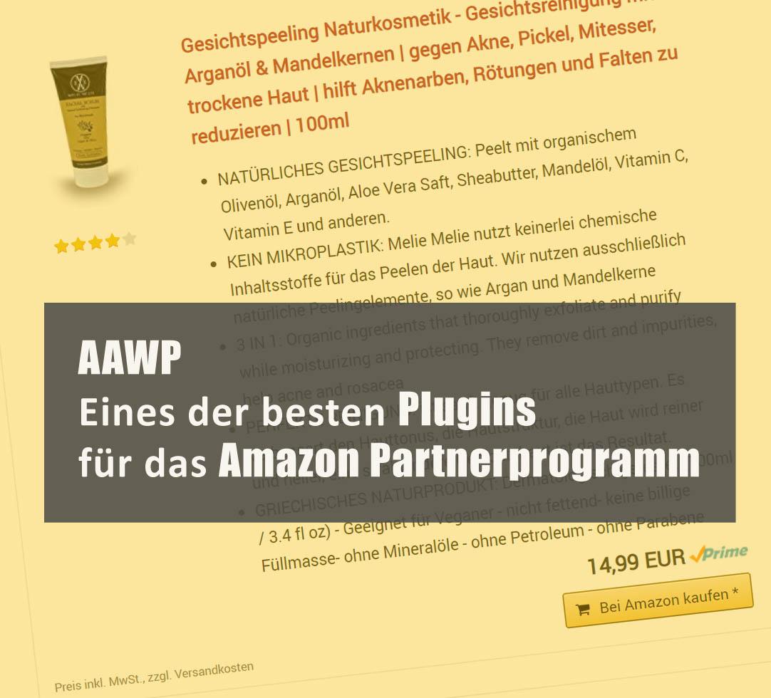 AAWP – Eines der besten Plugins für das Amazon Partnerprogramm