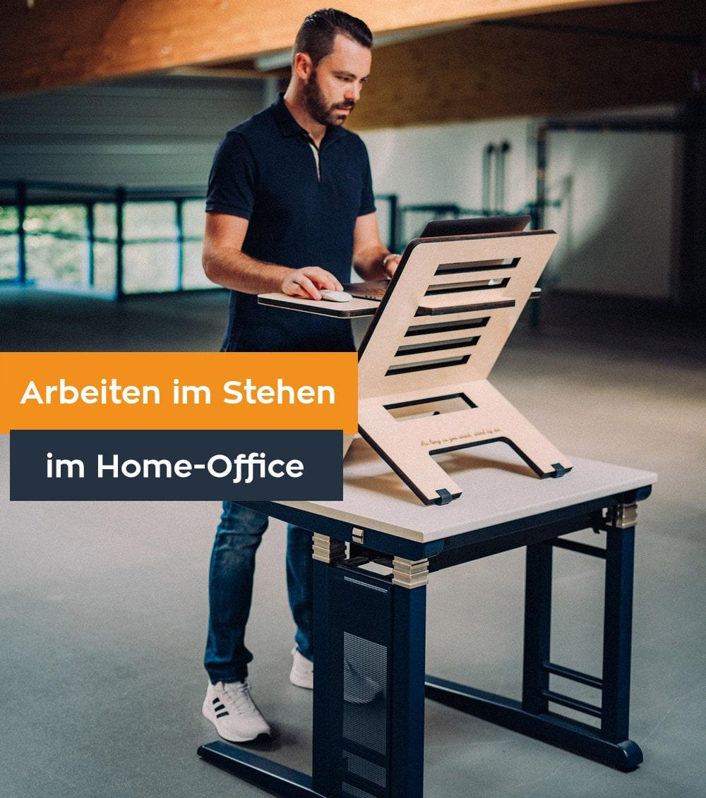 Arbeiten im Stehen im Home-Office: Vorteile und Tipps zur Umsetzung