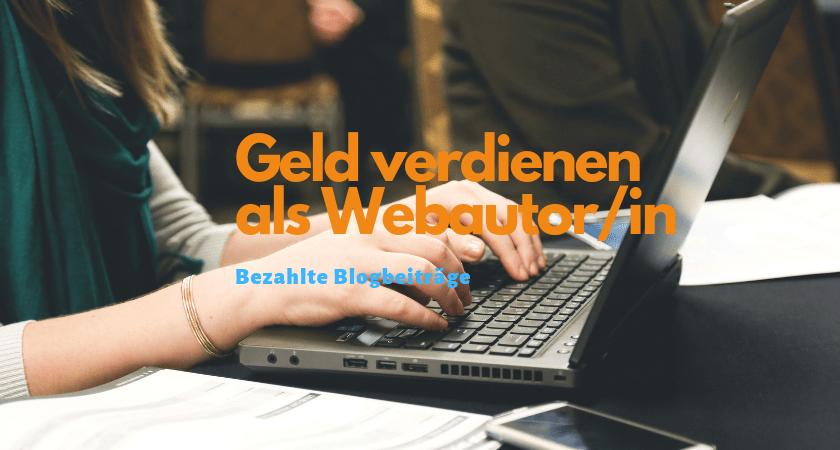 Bezahlte Blogbeiträge