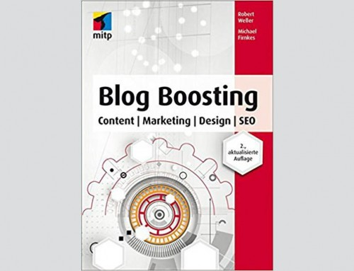 Buchbesprechung: Blog Boosting: Content | Marketing | Design | SEO