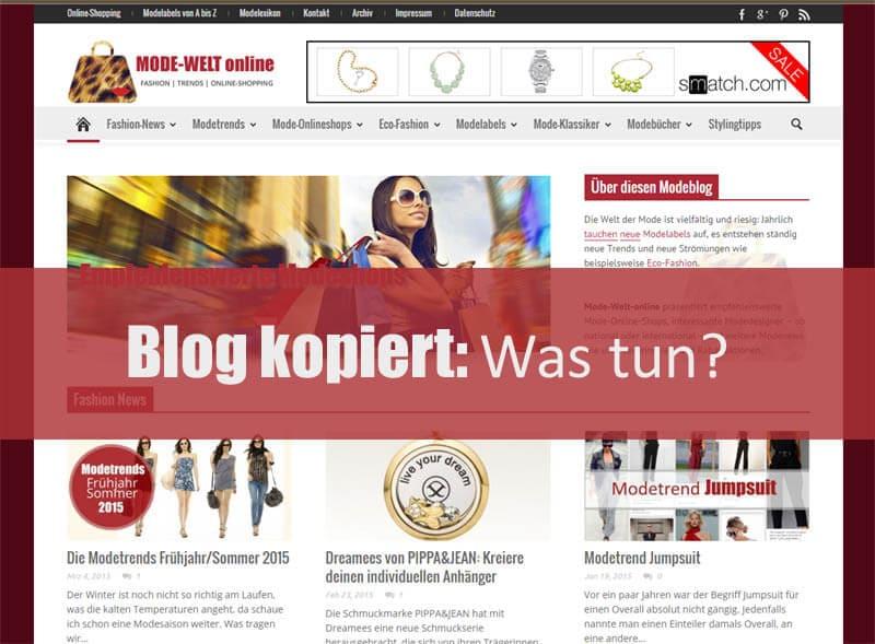 Der Content-Diebstahl von deutschen Blogs nimmt drastig zu: Auch ich war betroffen