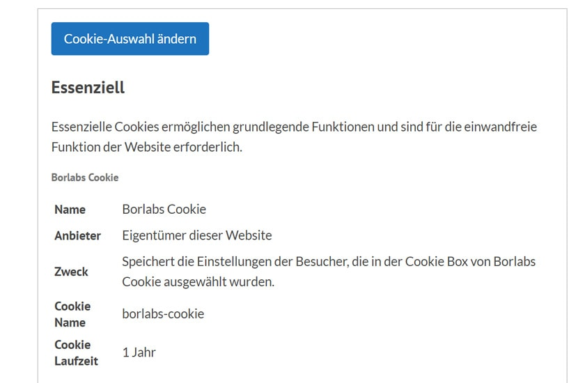 Borlabs-Cookie 2.0