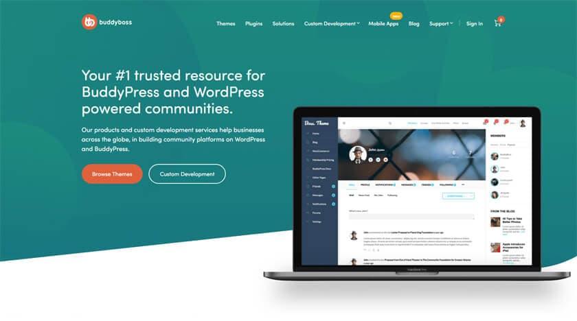 Buddyboss - BuddyPress Premium Theme und -Plugins