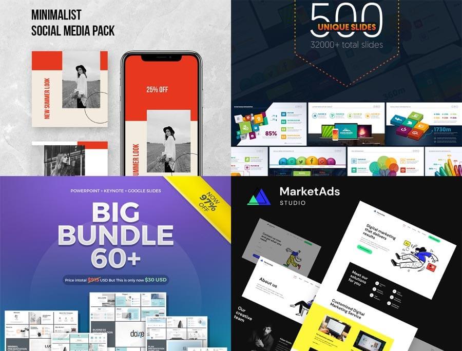 10 professionelle Business- und Marketing-Vorlagen für dein Geschäft von TemplateMonster
