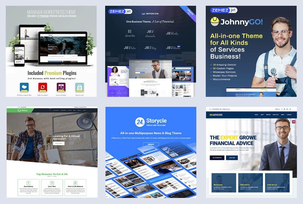 Die 20 besten WordPress Themes: Die beste Wahl für Business-Websites