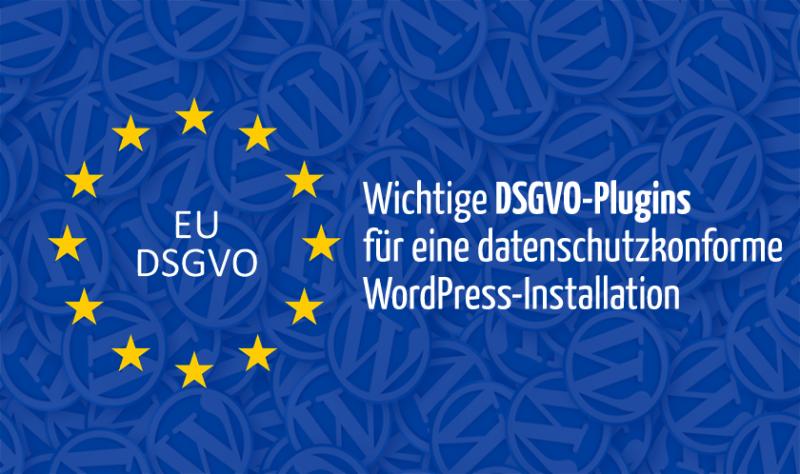 DSGVO-WordPress-Plugins
