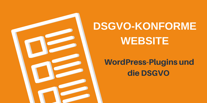 Image result for WordPress und die DSGVO