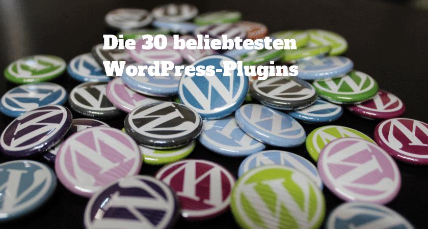 Die-30-beliebtesten-WordPress-Plugins