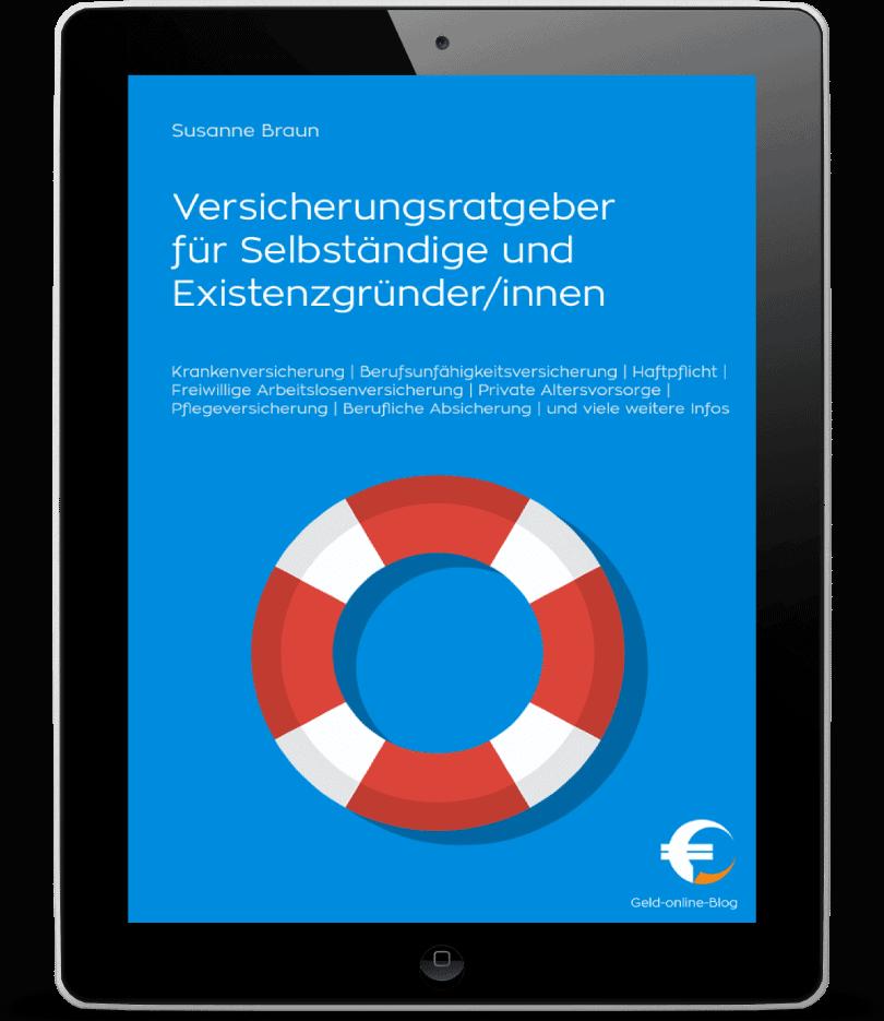 Ebook Versicherungen für Selbständige und Freelancer