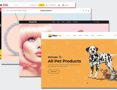 25 Top Vorlagen für E-Commerce-Websites