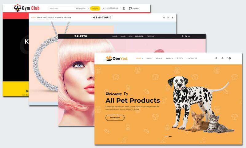 25 Top Vorlagen für E-Commerce-Websites