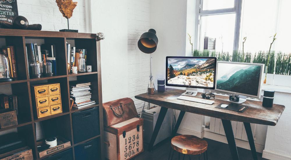 Unterschiedliche Möglichkeiten der Online-Heimarbeit