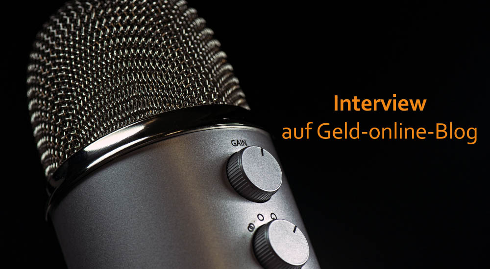 Interview auf Geld-online-Blog