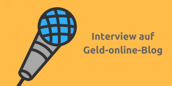 Interview auf Geld-online-Blog