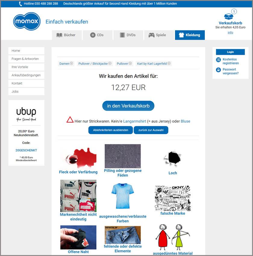 Alt Kleider Online Verkaufen Lohnt Sich Das Wirklich
