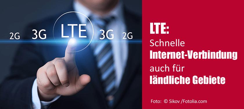 LTE - Schnelle Internetverbindung auch für ländliche Gebiete