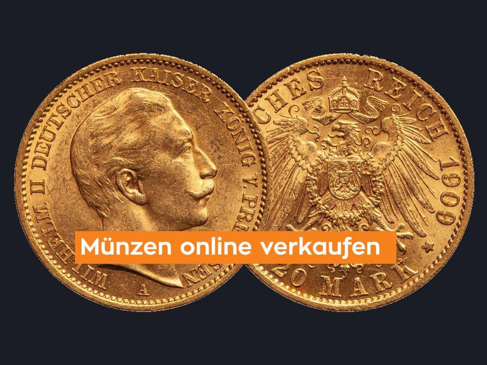 Münzen online verkaufen