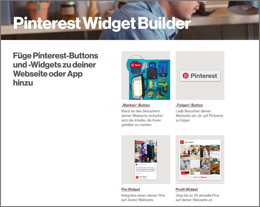 Pinterest-Widget-Builder