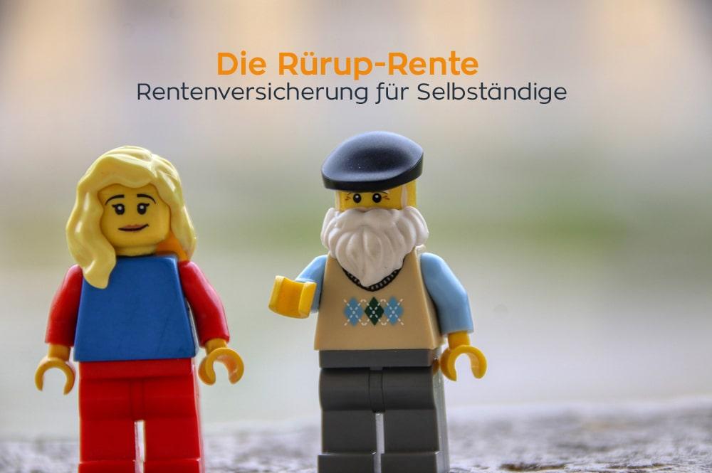 Rürup-Rente: Rentenversicherung für Selbständige