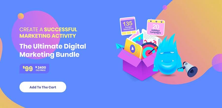 """Grafik-Paket """"Digital Marketing Bundle"""""""