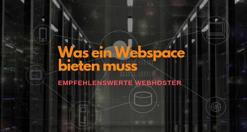 Empfehlenswerter Webhoster