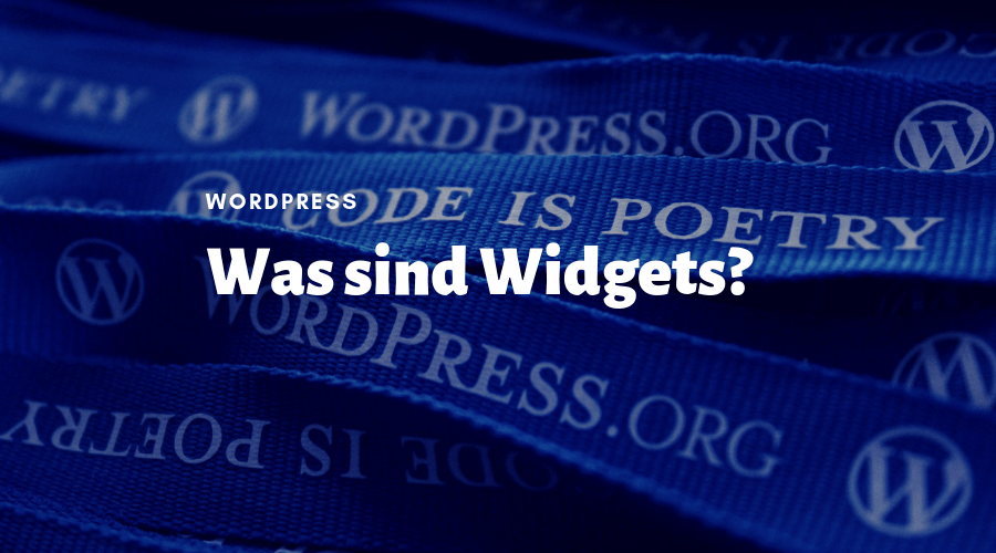 WordPress-Widgets