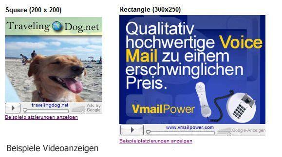 Google Adsense - Teil 3: Welche Werbeformate gibt es im Content-Bereich?