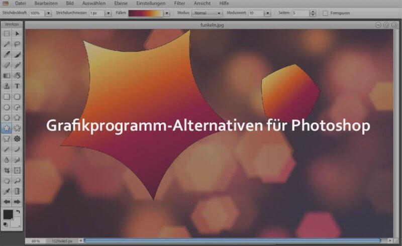 Alternative zu Photoshop